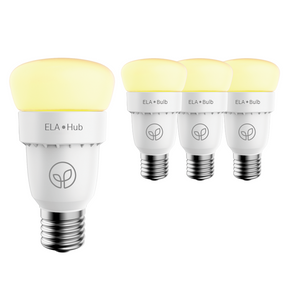 ELA Smart Hub & 3 Smart Bulbs - Starter Kit