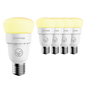 ELA Smart Hub & 4 Smart Bulbs - Starter Kit