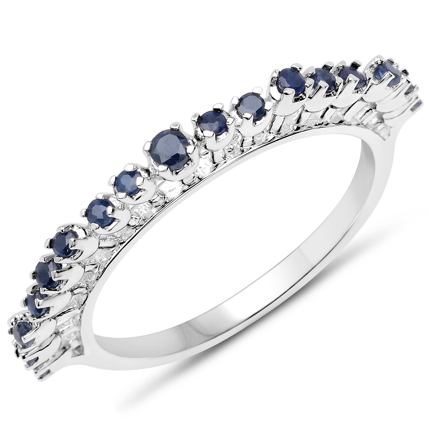 FB Jewels 925 Sterling Silver Stackable Ring Size 7