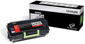 Lexmark (620HG) High Yield Toner Cartridge (25,000 Yield) (TAA Compliant Version of 62D0HA0)