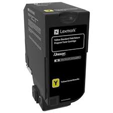 Lexmark CS720 Yellow Toner Cartridge (7,000 Yield) (TAA Compliant Version of 74C1SY0)