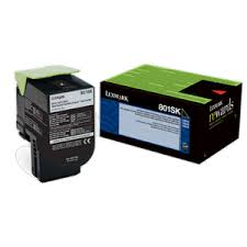 Lexmark CX310 Standard Yield Black Toner Cartridge (2,500 Yield) (TAA Compliant Version of 80C1SK0)