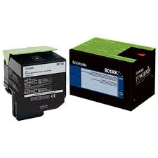 Lexmark CX510 Extra High Yield Black Toner Cartridge (8,000 Yield) (TAA Compliant Version of 80C1XK0)
