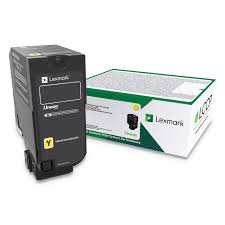 Lexmark CX725 High Yield Yellow Toner Cartridge (16,000 Yield) (TAA Compliant Version of 84C1HY0)