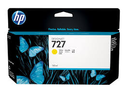 HP 727 (B3P21A) Yellow Original Ink Cartridge (130 ml)