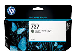 HP 727 (B3P22A) Matte Black Original Ink Cartridge (130 ml)