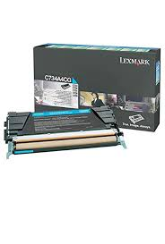 Lexmark C734 Cyan Toner Cartridge (6,000 Yield) (TAA Compliant Version of C734A1CG)
