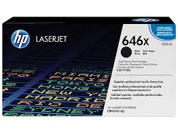 HP 646X (CE264X) Black Original LaserJet Toner Cartridge (17,000 Yield)
