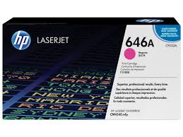 HP 646A (CF033A) Magenta Original LaserJet Toner Cartridge (12,500 Yield)