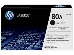 HP 80A (CF280A) Black Original LaserJet Toner Cartridge (2,560 Yield)