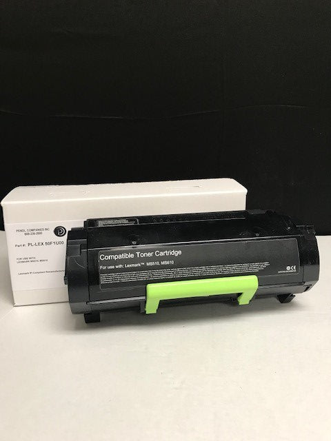Lexmark MS510 (501U) IP-Compliant Ultra High Yield Black Toner Cartridge (20,000 Yield)