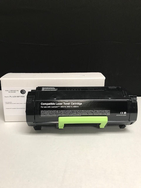 Lexmark MX410 (601H) IP-Compliant High Yield Black Toner Cartridge (10,000 Yield)