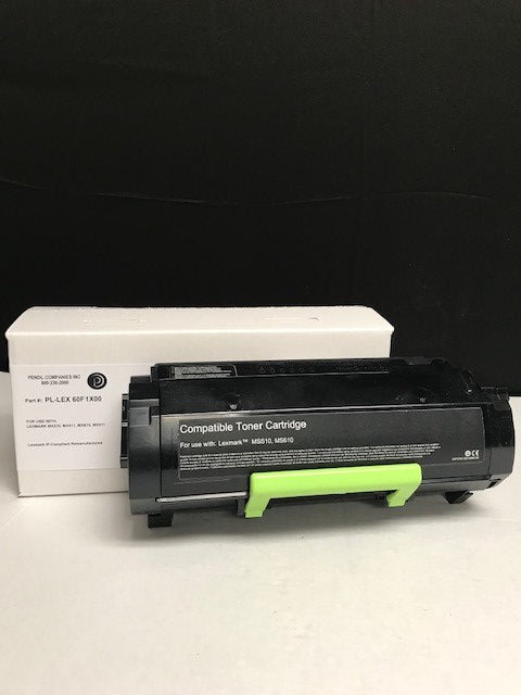Lexmark MX510 (601X) IP-Compliant Extra High Yield Black Toner Cartridge (20,000 Yield)