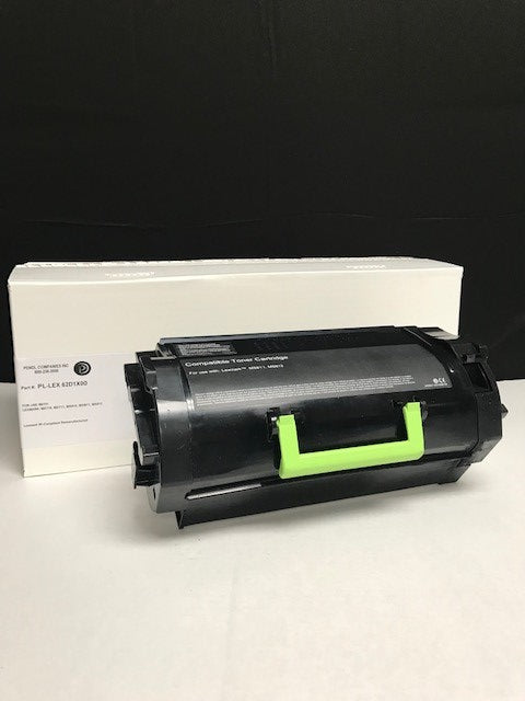 Lexmark MX711 (621X) IP-Compliant Extra High Yield Black Toner Cartridge (45,000 Yield)