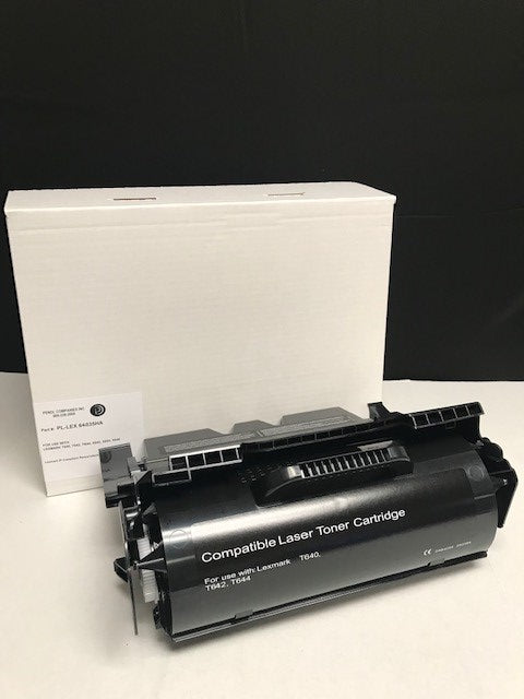 Lexmark T640 IP-Compliant High Yield Black Toner Cartridge (21,000 Yield)