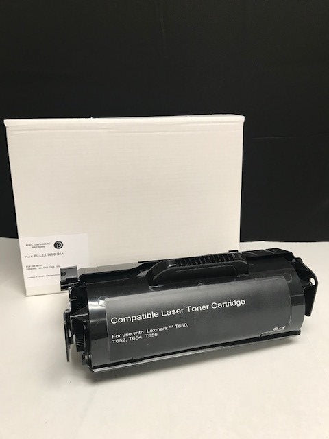 Lexmark T650 IP-Compliant High Yield Black Toner (25,000 yield)