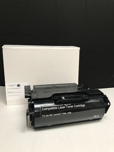 Lexmark T654 IP-Compliant Extra High Yield Black Toner Cartridge (36,000 Yield)