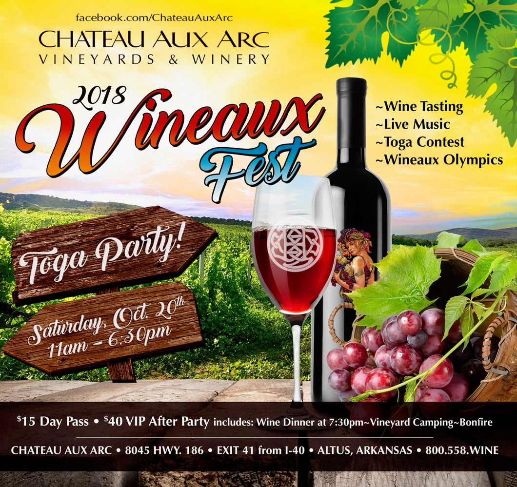 2018 WINEAUX FEST Day Pass