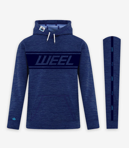 Weel Hoodie - Blue on Blues