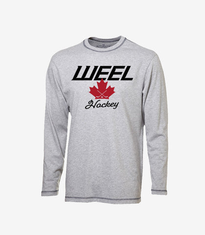 Weel Hockey Canada - Long Sleeve (Gry)