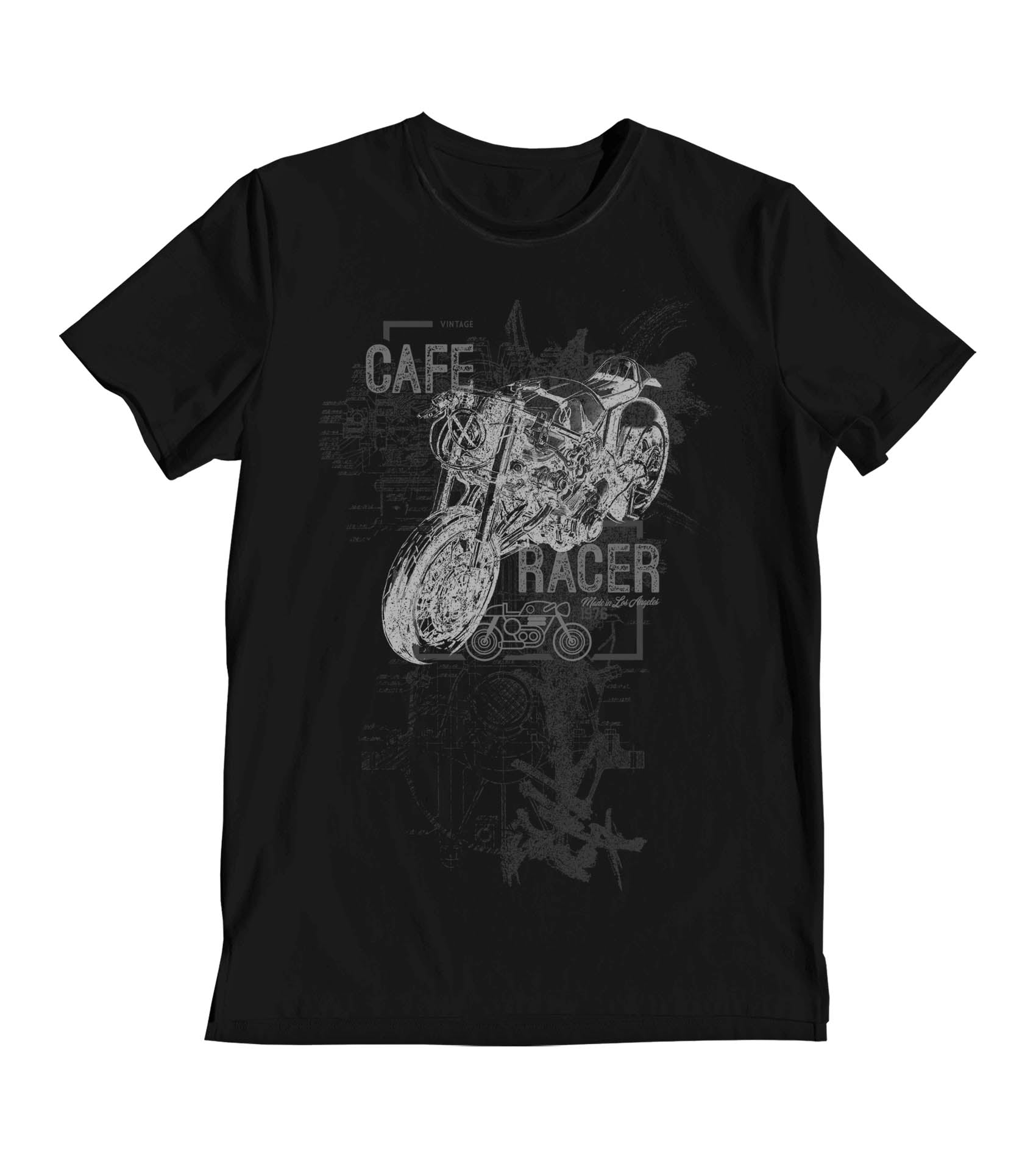 Cafe Racer Blueprint Men's T