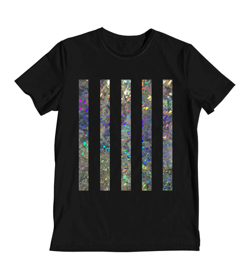 Glitter Strips Women's T