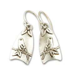 Vickie Hallmark | Canary Earrings | sterling silver