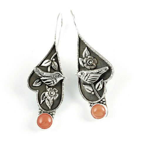 Vickie Hallmark | Coral Wren Earrings