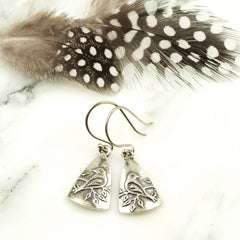 Vickie Hallmark | Dove Earrings | sterling silver