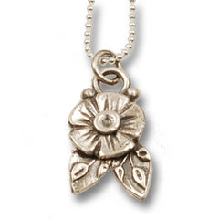 Vickie Hallmark | Flora Pendant | sterling silver