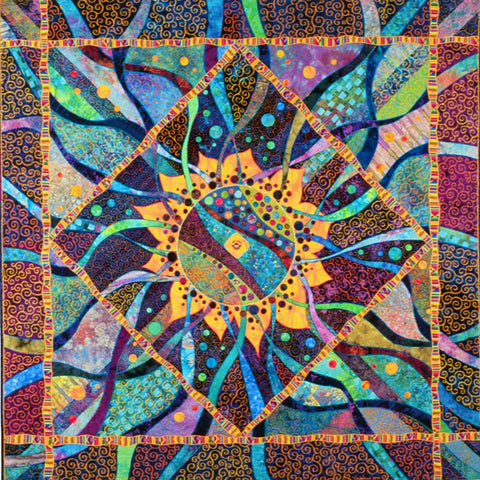 Vickie Hallmark | Fusion | art quilt, multiple award winner