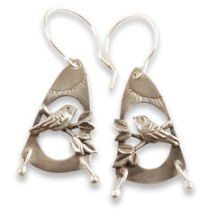 Vickie Hallmark | Meadowlark Earrings | sterling silver