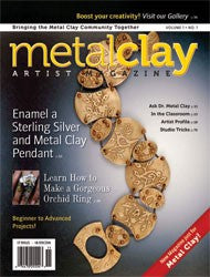Vickie Hallmark | Cover of Metal Clay Artist's Magazine