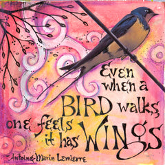 Vickie Hallmark | Wings | Journal Art