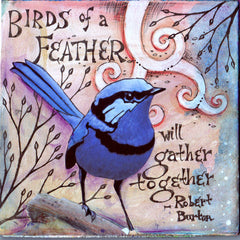 Vickie Hallmark | Feather | Journal Art