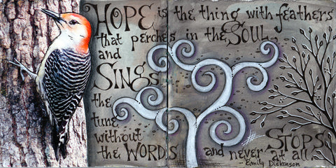 Vickie Hallmark | Hope | Journal Art