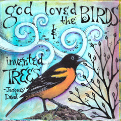 Vickie Hallmark | God | Journal Art