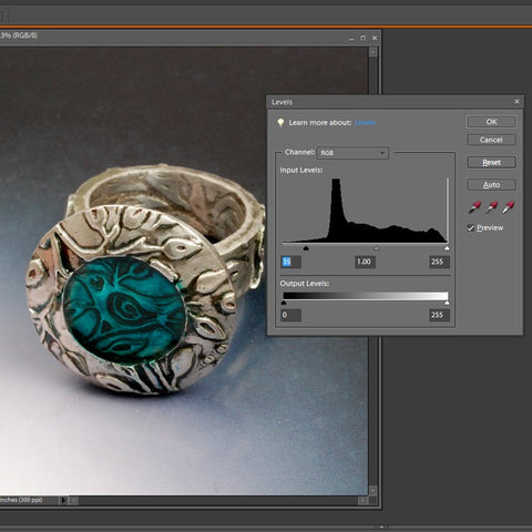Image Processing Jewelry Photo