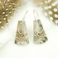 Vickie Hallmark | Sparrow Earrings | sterling silver