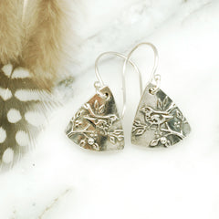 Vickie Hallmark | Wren Earrings | sterling silver