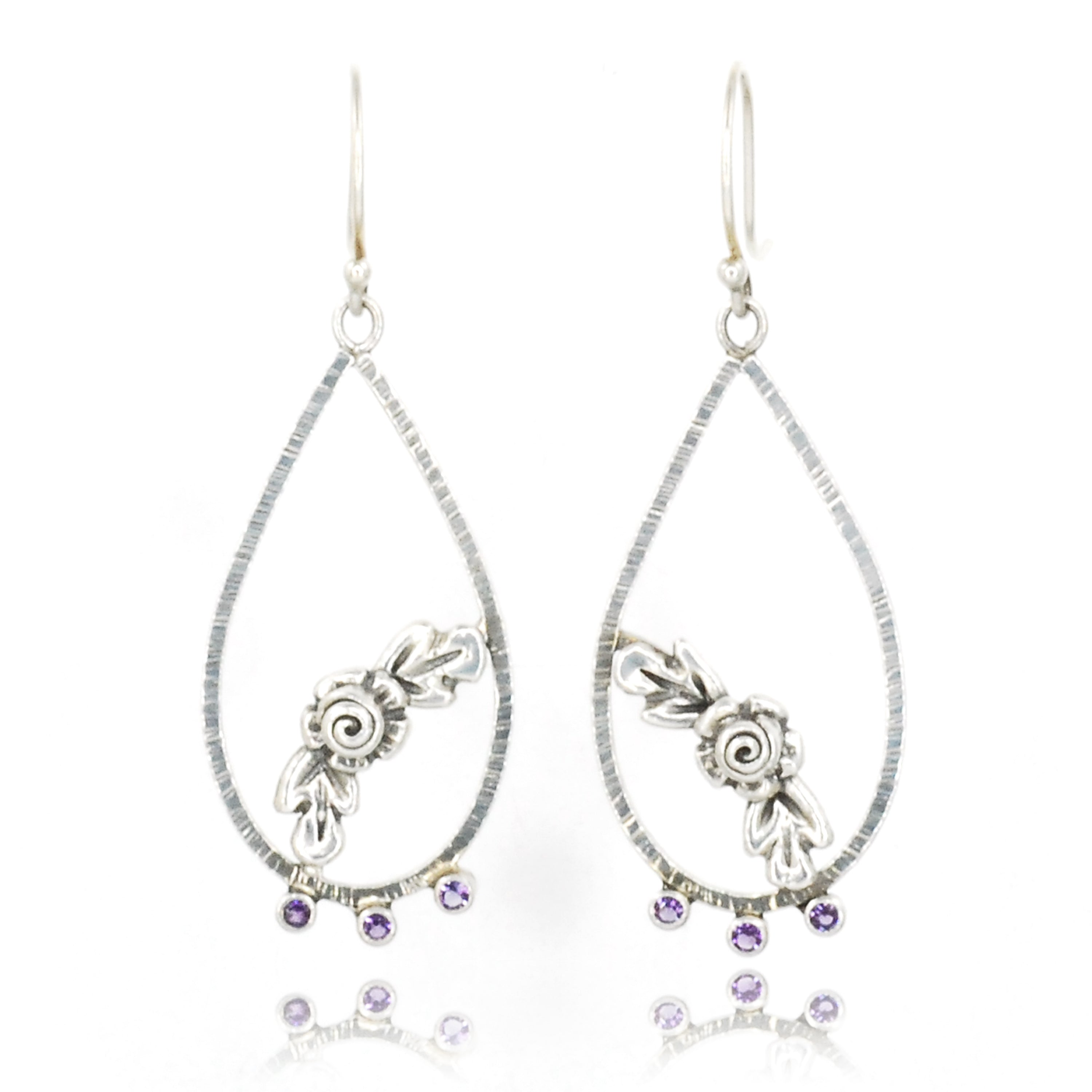Amethyst Garland Earrings