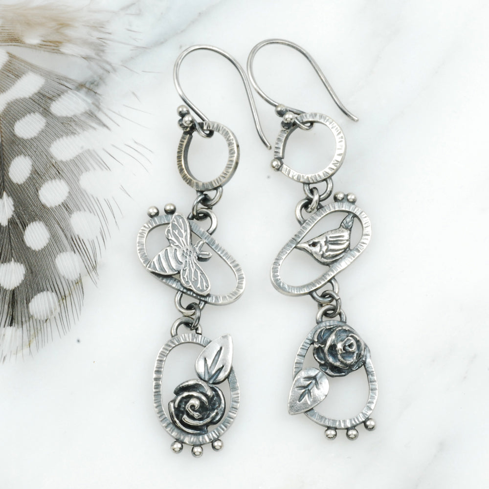 Birds & Bees Earrings