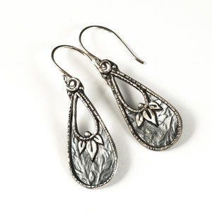 Leaf Basket Earrings