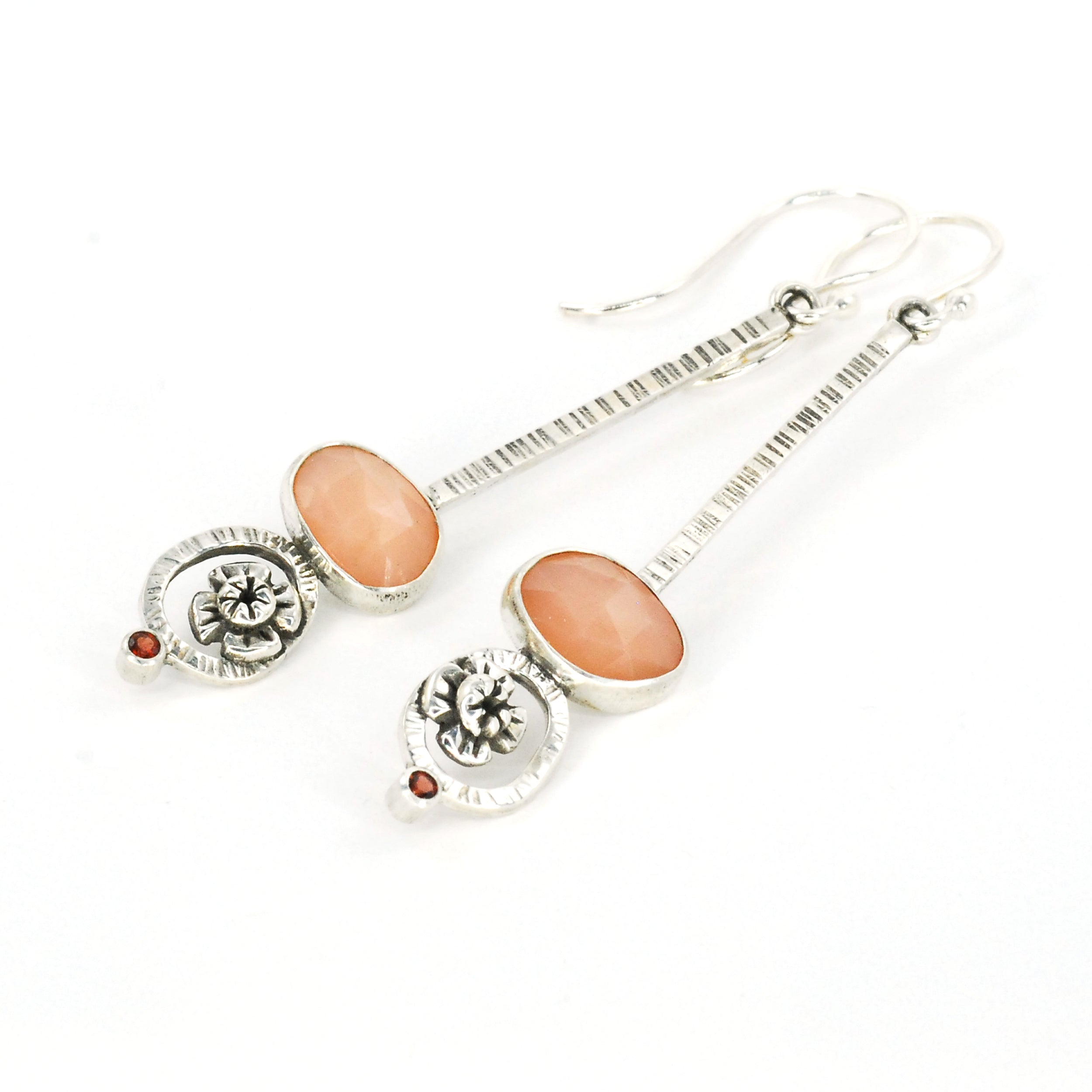 Long Moonblossom Earrings