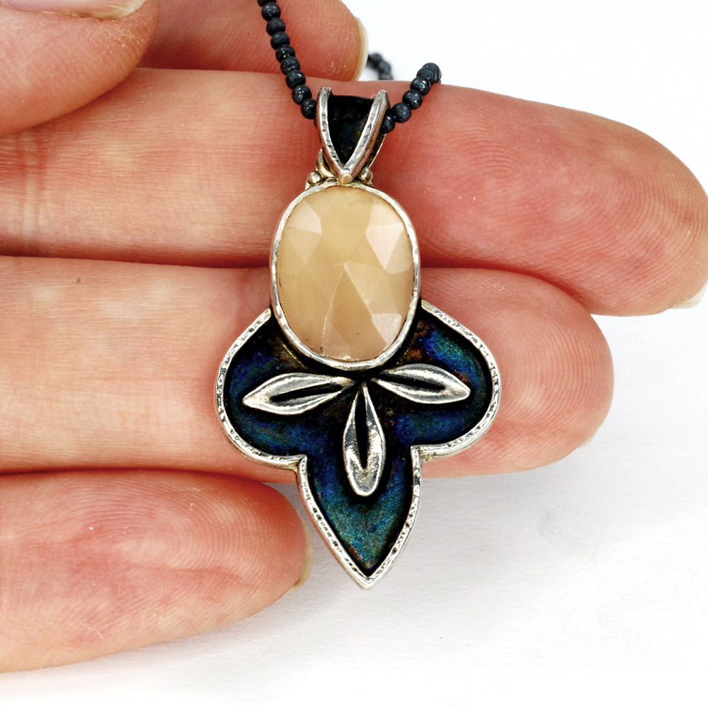 Moon Leaf Pendant