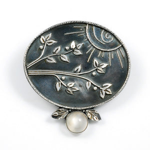Moonshadow Brooch/Pendant