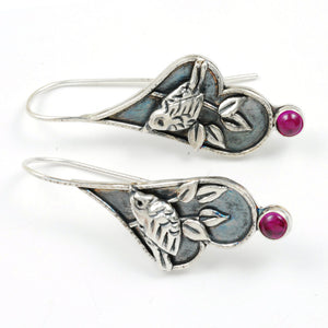 Ruby Wren Earrings