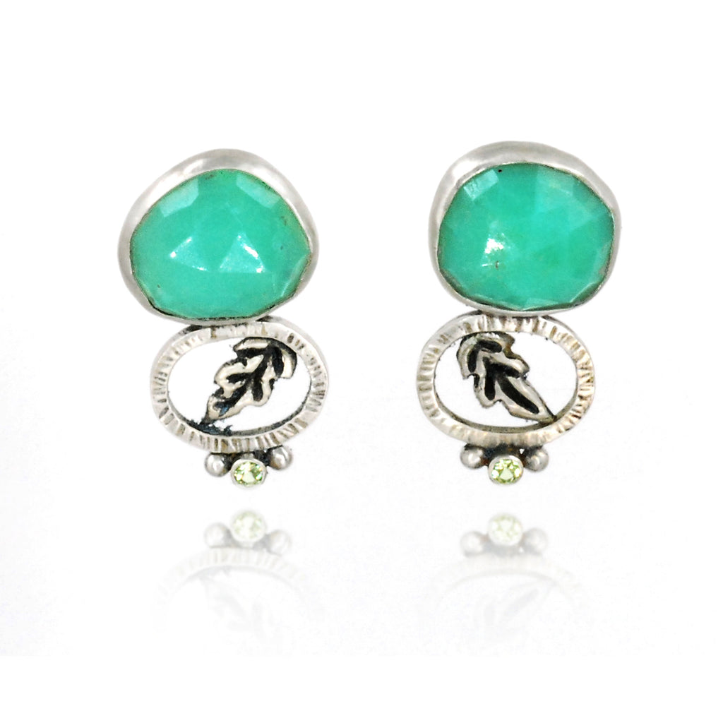 Spring Greens Earrings
