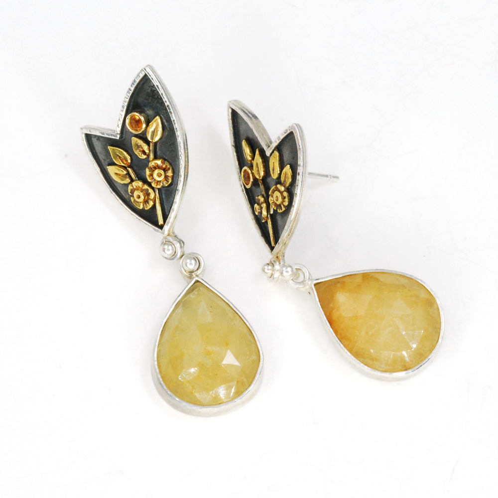 Sunshine and Shadow Earrings