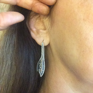 Acanthus Leaf Earrings